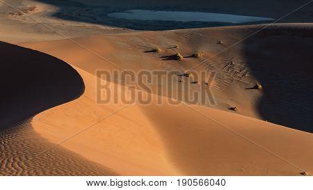 Sand Dunes in the Namib Naukluft Park Sossusvlei Namibia