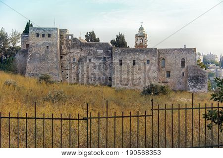 Monastery Of The Cross. Valley of the Cross, Jerusalem, Israel.