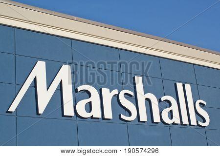 Marshalls Store Sign