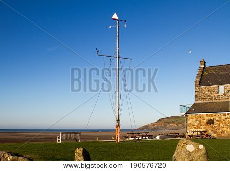 The Beach At Newport, Pembrokeshire, Wales