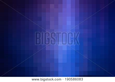horizontal digital pixelated background image of cobalt blues and purples and light blue great foe background use.