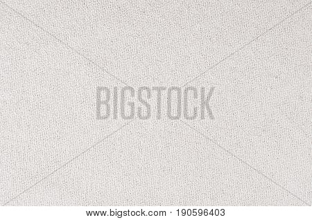 White cotton canvas fabric texture. Abstract background.