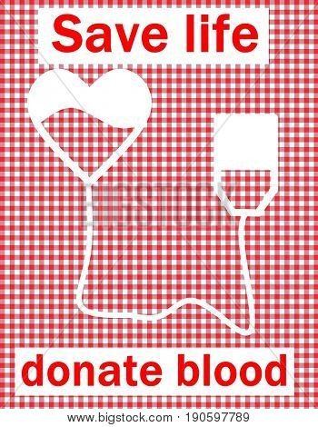 Save life, donate blood