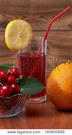Cold drink, invigorating in the summer, brings a lot of pleasure and health to the person.