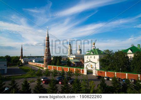 Epiphany Staro-Golutvin man's monastery in the city of Kolomna Russia