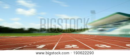 Athlete Track or Running Track, track running