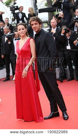 Maria Joao Bastos attends 'Amant Double (L'Amant Double')' Red Carpet Arrivals during the 70th annual Cannes Film Festival at Palais des Festivals on May 26, 2017 in Cannes, France.