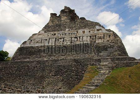 Mayan ruins Xunantunich, San Ignacio, Belize Central America