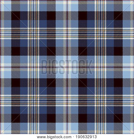 Tartan Seamless Pattern Background. Red Blue Black Yellow and White Plaid Tartan Flannel Shirt Patterns. Trendy Tiles Vector Illustration for Wallpapers.