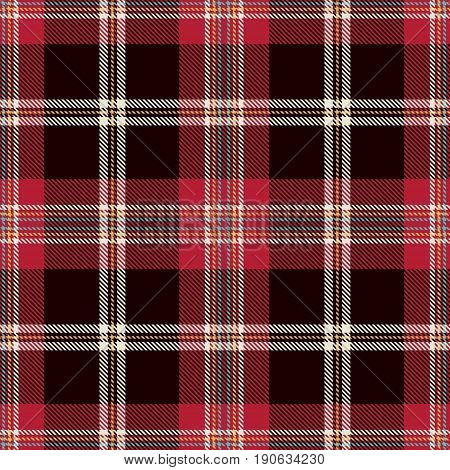 Tartan Seamless Pattern Background. Red Black Blue Yellow and White Plaid Tartan Flannel Shirt Patterns. Trendy Tiles Vector Illustration for Wallpapers
