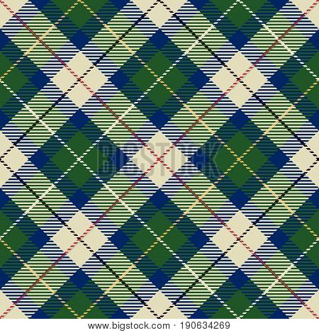 Tartan Seamless Pattern Background. Red Black Blue Green Yellow and White Plaid Tartan Flannel Shirt Patterns. Trendy Tiles Vector Illustration for Wallpapers.