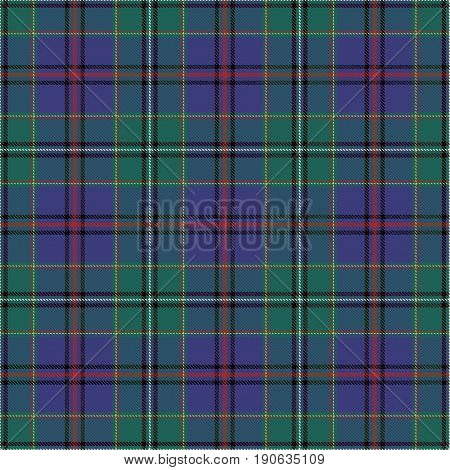 Tartan Seamless Pattern Background. Blue Black Green Yellow and White Plaid Tartan Flannel Shirt Patterns. Trendy Tiles Vector Illustration for Wallpapers