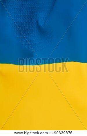 Ukrainian flag as wallpaper. Ukraine patriotic color.
