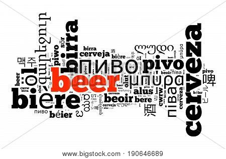 Word Beer In Different Languages