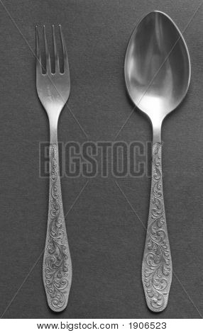 Dinner Fork And Spoon
