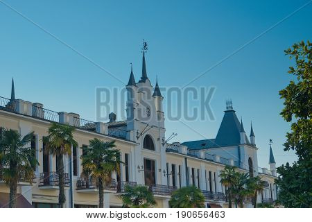 architecture of the ancient city of Sukhumi