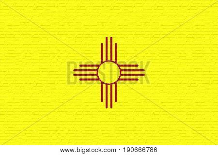 Flag Of New Mexico Wall