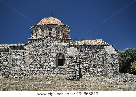 Monastery of Michael the Archangel in Thari on the island of Rhodes