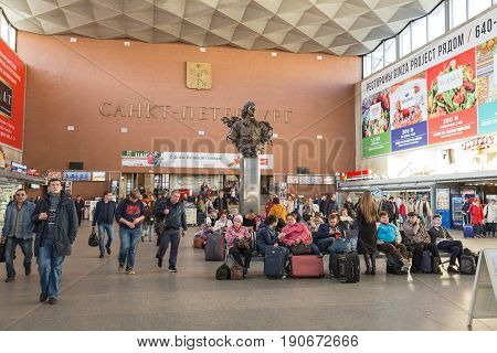 Moscow Railway Station, St-petersburg