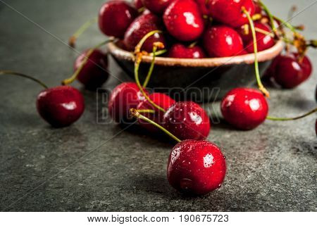 Fresh Raw Organic Cherry