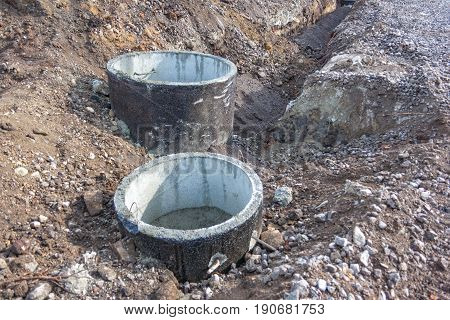 Concrete Shaft Manhole Rings