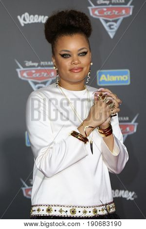 LOS ANGELES - JUN 10:  Andra Day at the