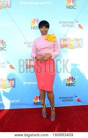 LOS ANGELES - JUN 9:  Jennifer Hudson at the NBC's 'Hairspray Live!' FYC Event at the ATAS Saban Media Center on June 9, 2017 in North Hollywood, CA