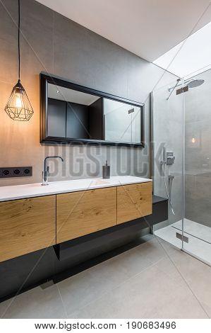 Bedroom With Walk In Shower
