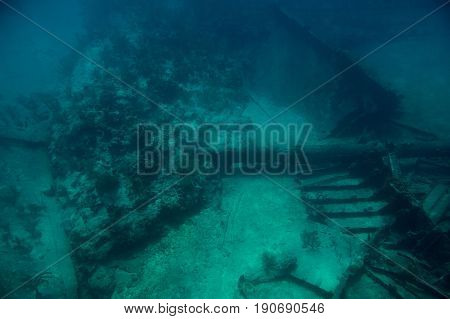 Reef With Shipwreck