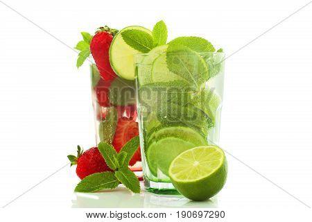 Cassic And Strawberry Mojito