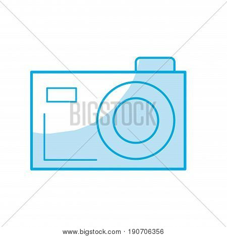 silhouette digital camera to capture the nice moments vector illustration
