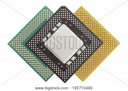 Central Processing Unit Or Computer Chip