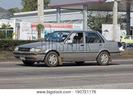 Private Old Car, Toyota Corolla.
