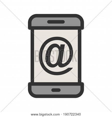 Email, address, phone icon vector image. Can also be used for smartphone. Suitable for mobile apps, web apps and print media.