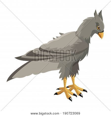 hippogriff greek mythological creature legendary beast vector illustration