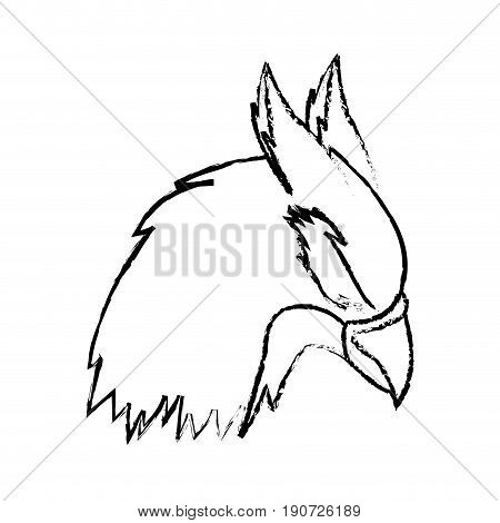 hippogriff greek mythological creature beast vector illustration