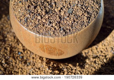 Crushed Chaga Mushroom
