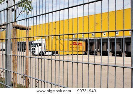 DHL Warehouse - Langenhagen/Germany - 2017 June 11.