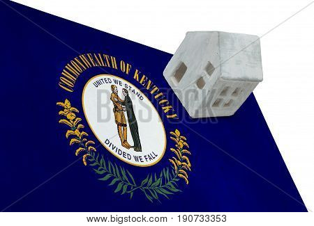Small House On A Flag - Kentucky