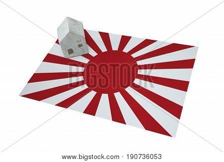 Small House On A Flag - Japan