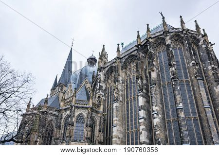 Aachen cathedral is the oldest Roman Catholic church in northern Europe Aachen Germany