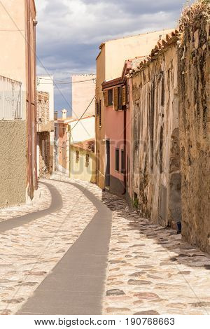 Posada, the lanes of the old town
