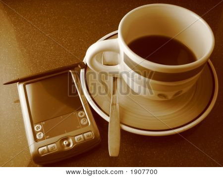 Coffee And Pda