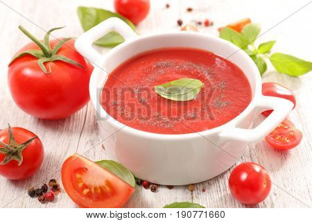 tomato soup or sauce