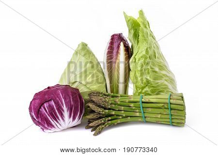 Vegetables Group Isolated