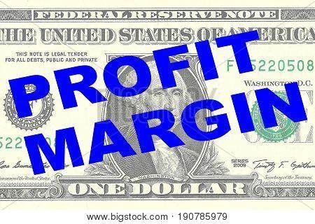 Profit Margin - Financial Concept