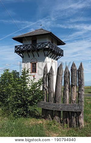 Roman Limes Watch Tower near Idstein-Dasbach, Hesse, Germany