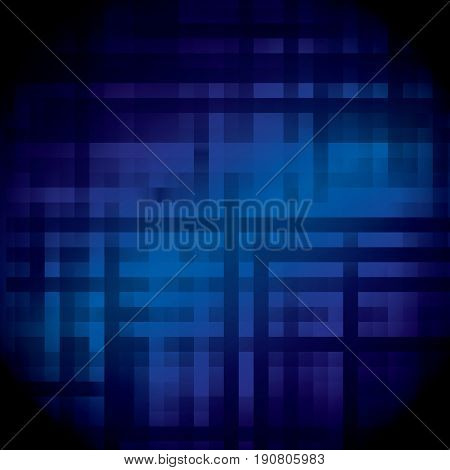 Blue techno connections abstraction motion theme background