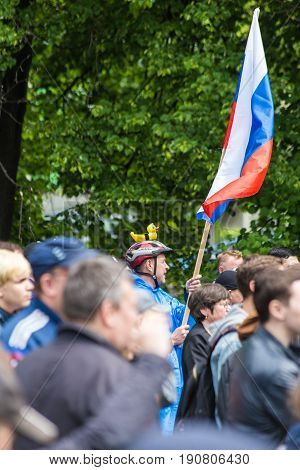 12 June 2017. Ufa. Russia. Russian Opposition Anti-corruption Protest Demonstration Against Against