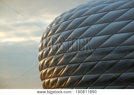 Allianz Arena In Munich